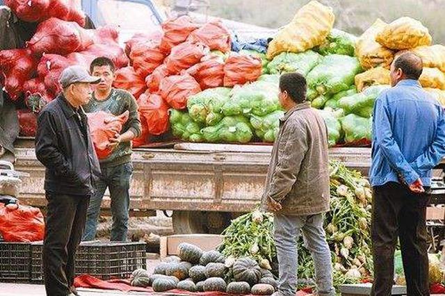 冬储菜上市 包头市设多处临时便民销售点