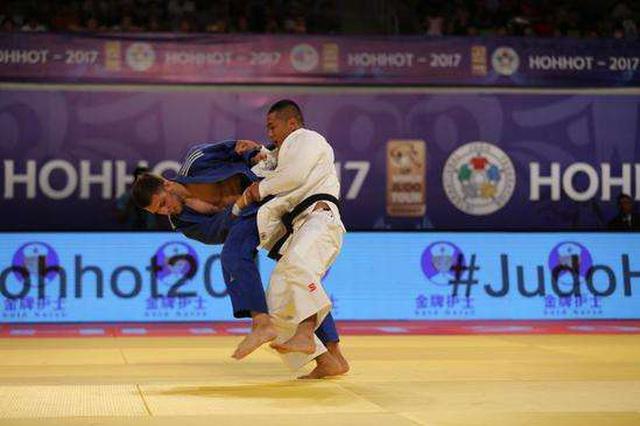 全国柔道冠军赛:内蒙古选手揽3金3银3铜