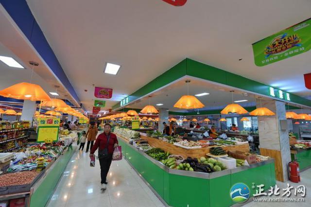 超市化农贸市场 打造绿色购物环境