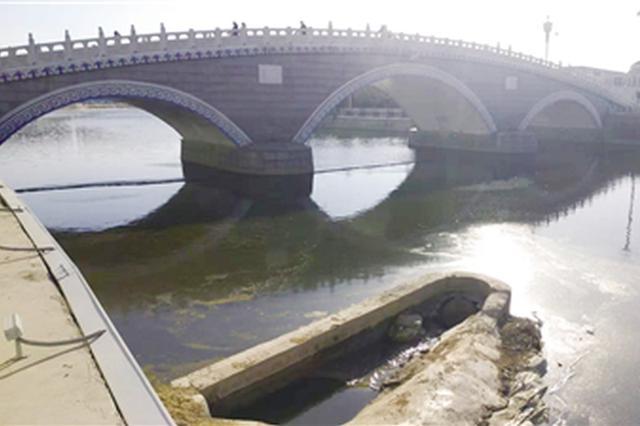 排污管道外溢污染景觀河 辦事處及時確保河道衛生