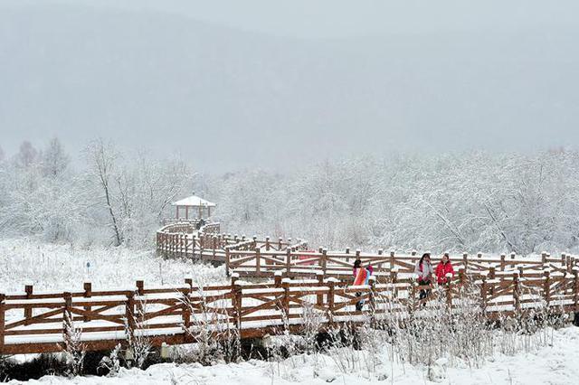 雪落呼伦贝尔