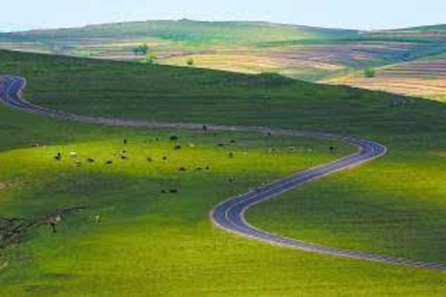 乌兰布和沙漠金秋丰收的美景:葡萄甜 稻谷香 鱼蟹肥