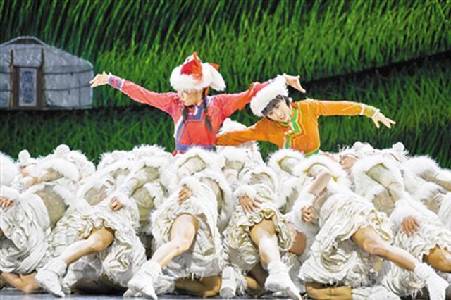 《草原英雄小姐妹》在内蒙古民族艺术剧院上演