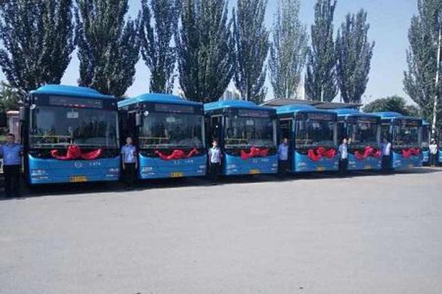 因道路施工首府部分公交车临时改线绕行