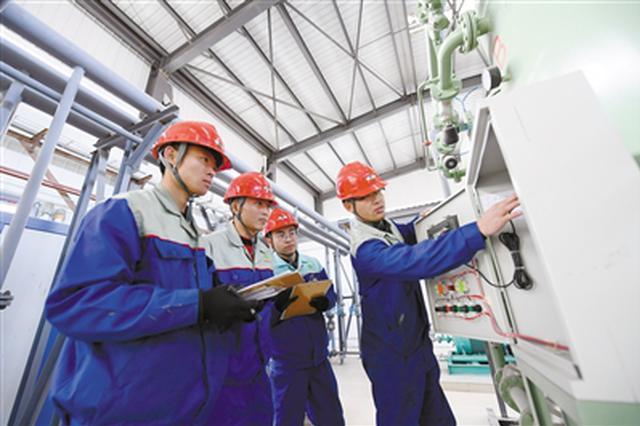 包头市昆都仑区金属深加工园区为定期投产做准备