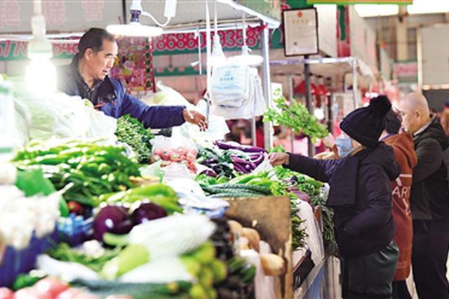 10月份内蒙古自治区蔬菜价格呈下降趋势