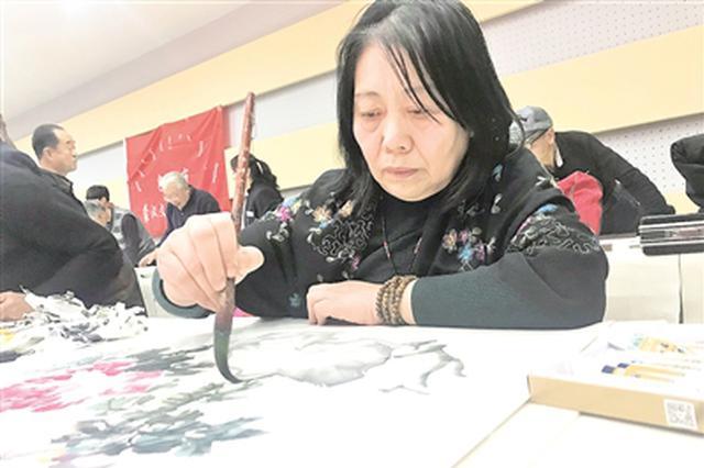 包头市蒙汉文书画院在青山区举行揭牌仪式