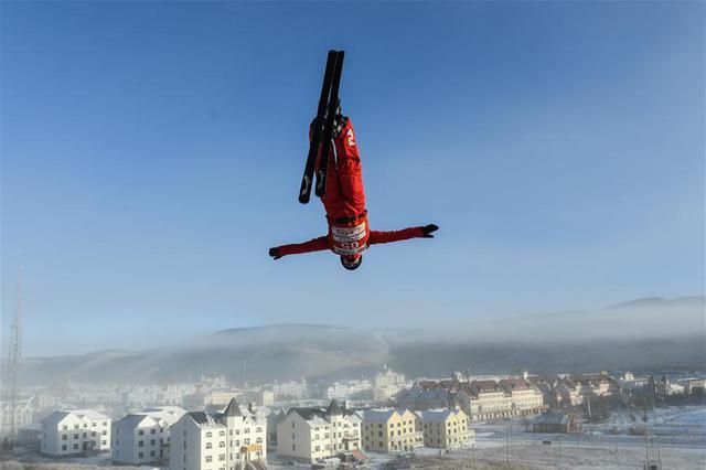 自由式滑雪——空中的舞者