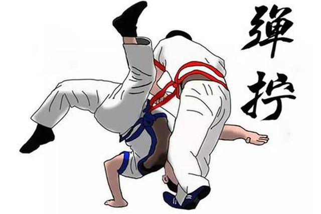 全国首届中国式摔跤赛:内蒙古健儿摘金夺银揽铜