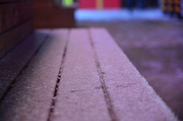 呼和浩特的雪 迷失在冷暖气流交错的时差里