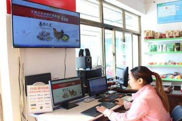 1~11月4个农村电商示范县网售额达9000万
