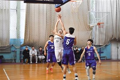 第21届CUBA中国大学生篮球赛内蒙古赛区选拔赛开幕