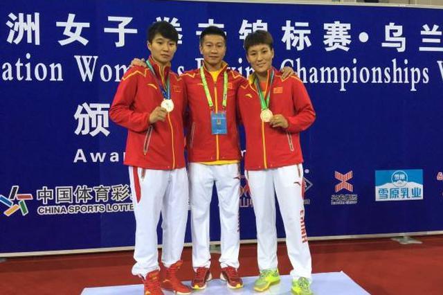 全国少年女拳锦标赛:内蒙古选手夺2金1银1铜