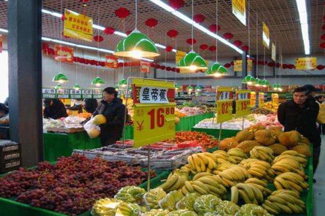 首府菜市场外地蔬菜唱主角 整体蔬菜价格目前较为稳定