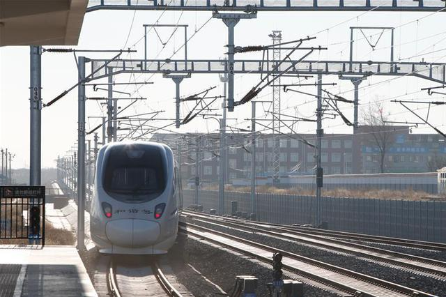 内蒙古首入全国高铁网