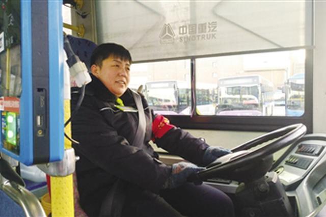 公交司机郭雁飞:服务西部城区居民很有成就感