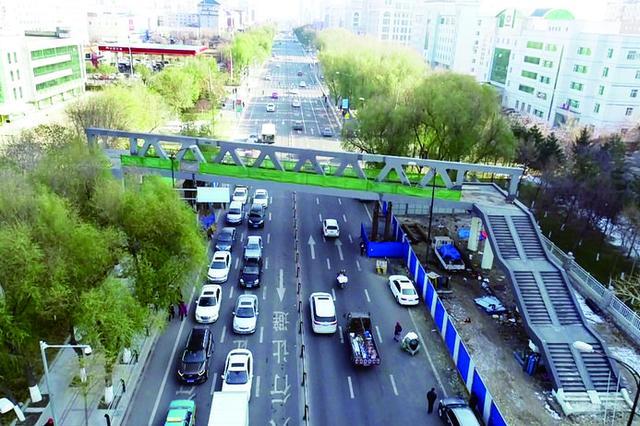 2019年呼和浩特市将新建10座人行过街天桥