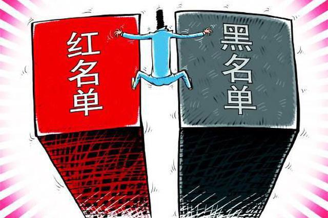 """呼和浩特市建立商企诚信""""红黑名单""""制度"""