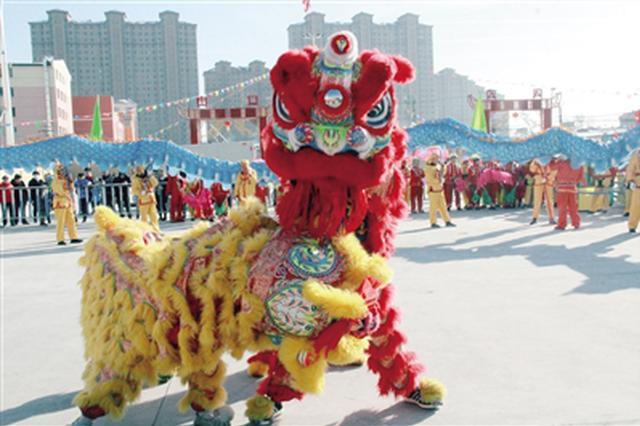 """玉泉区举办第十一届""""元宵节九曲灯会""""活动"""