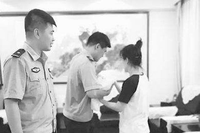 女婴患唐氏综合征被遗弃 民警送医检查后移送福利院
