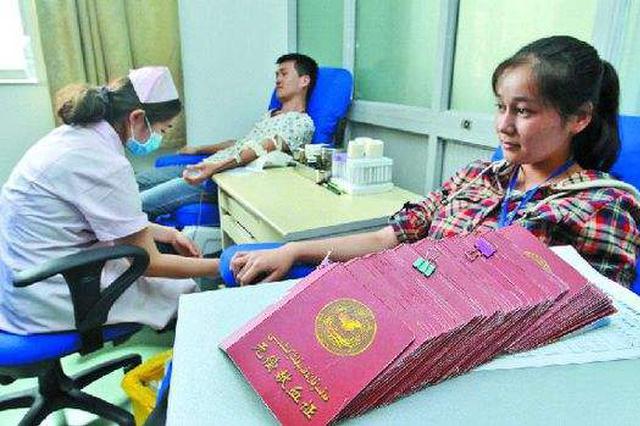 内蒙古血液中心血库告急 倡议市民积极献血