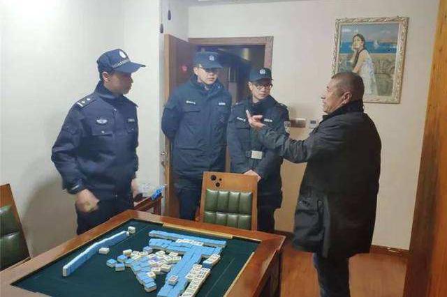 科尔沁左翼后旗公安局严查重点行业场所11家