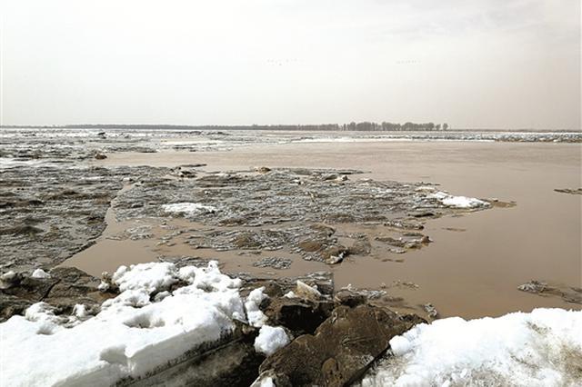 黄河包头段开河接近尾声 21日将全线开河