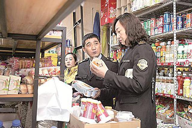 包头市市场监管局开展突击检查校园食品安全行动