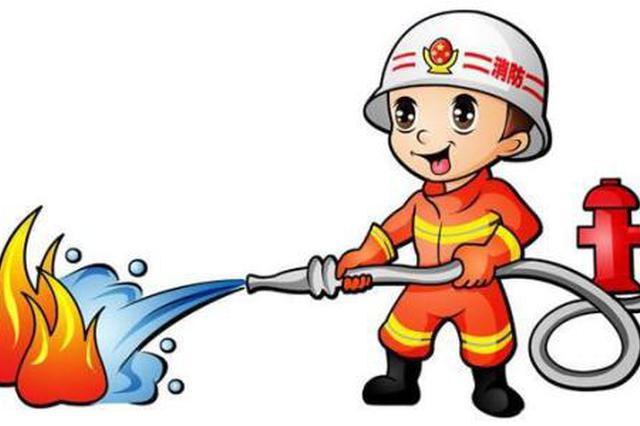 鄂尔多斯市一修理厂电线短路引发火灾 无人员伤亡