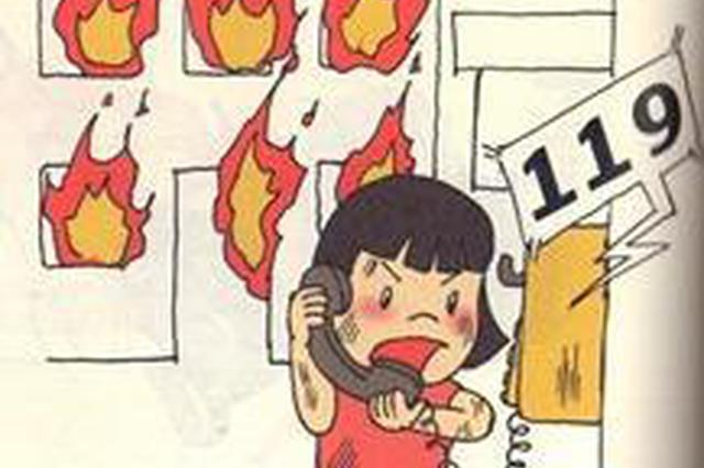 首府光彩市场一商铺发生火灾 消防部门及时扑灭