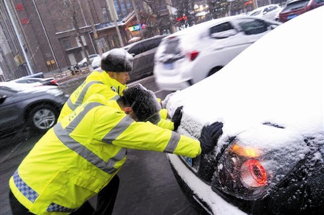 瑞雪报春分 通辽市各路交通启动恶劣天气应急预案