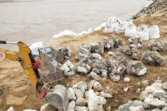 黄河内蒙古杭锦旗段发生冲淘 险情已基本得到控制