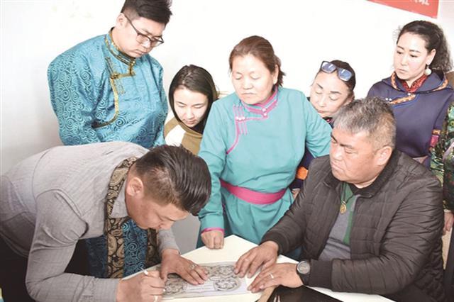 包头达茂旗特举办民族手工艺培训班 保护传承传统文化