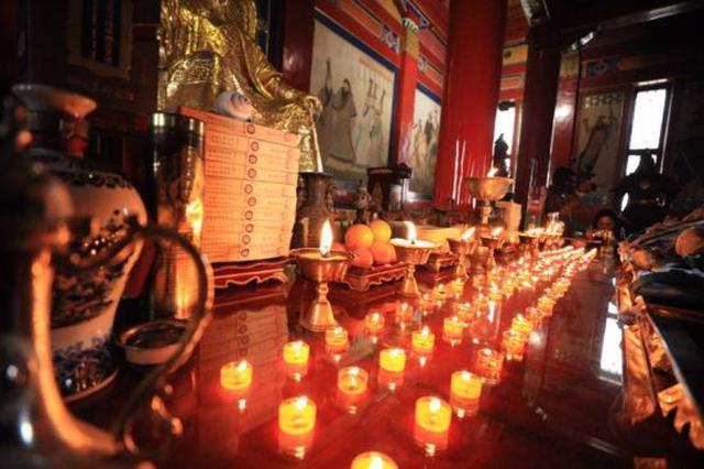 乌兰浩特:成吉思汗庙举行成吉思汗年祭大典