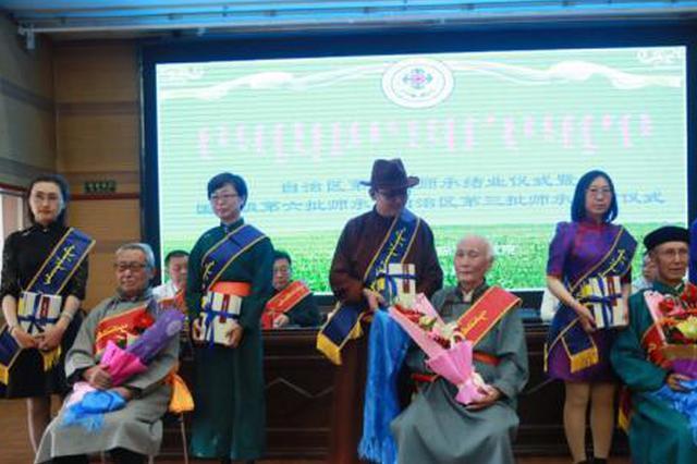内蒙古百余名蒙医药从业者拜师传承千年文化