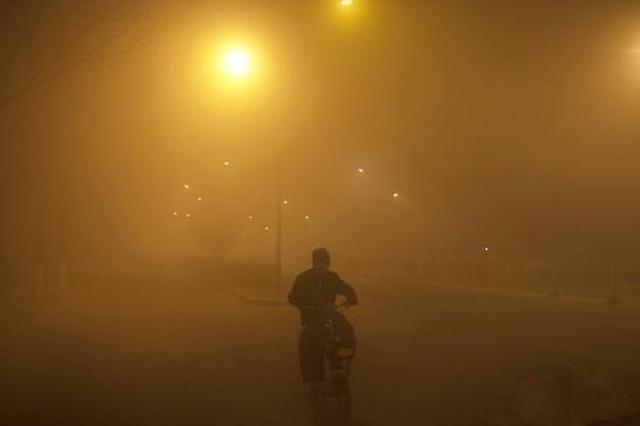呼和浩特市人民政府发布空气污染橙色预警