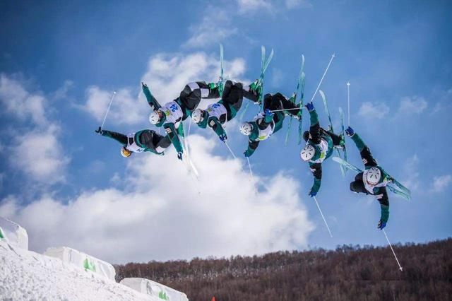 全国自由式滑雪雪上技巧冠军赛在扎兰屯落幕
