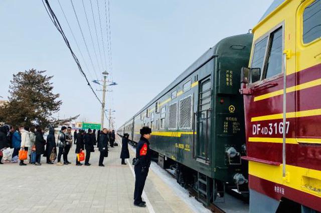 内蒙古边陲小镇铁警春运中的一天