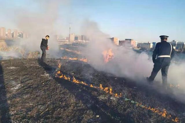 突发火灾,社区微型消防站迅速处置