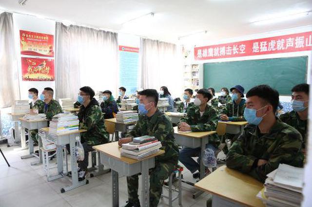 兴安盟科右中旗高三初三年级迎来开学第一天