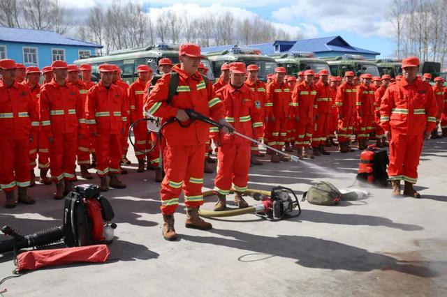 """内蒙古图里河林业局打造""""空地一体化""""扑火模式"""