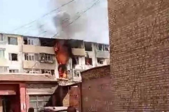 内蒙古呼和浩特一居民楼发生天然气爆炸 致2死3伤