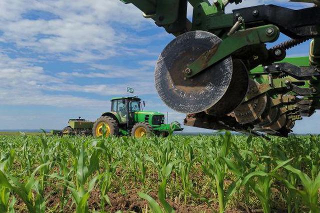 呼伦贝尔扎兰屯大河湾农场进行农业产业结构调整