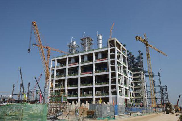 呼和浩特久泰年产100万吨煤制乙二醇项目建设中