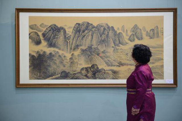 《传承经典——宋代绘画临摹作品展》在首府展出