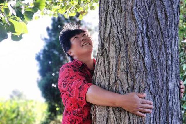 """毛乌素沙地种树人 让""""沙进人退""""变为""""人沙和谐"""""""