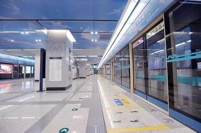 呼和浩特市地铁2号线10月1日起开通初期运营