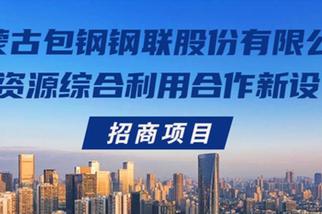 内蒙古包钢钢联股份有限公司萤石资源综合利用合作新设公司招商项目