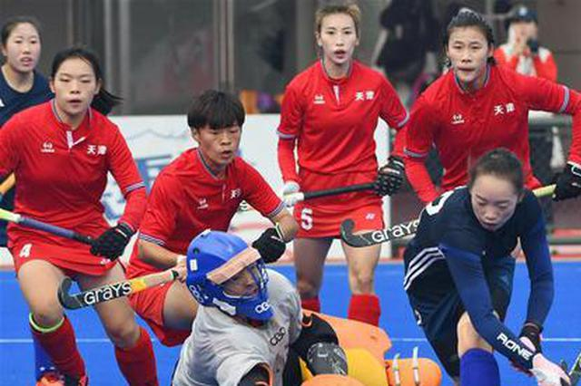 曲棍球——全国女子锦标赛:内蒙古队获第七名