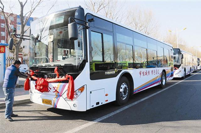 通辽市:公交线路全覆盖 市民出行更环保更便捷